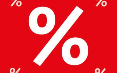 30 % in allen Abteilungen