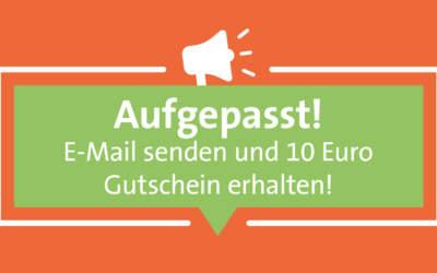 10€ Gutschein erhalten!