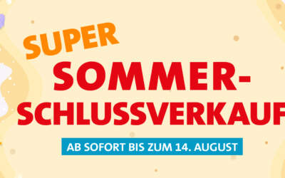 Super Sommer-Schlussverkauf